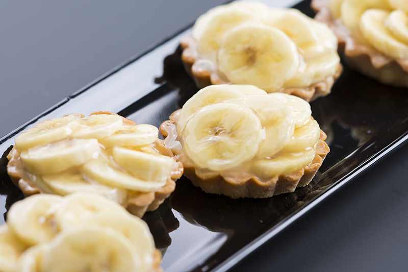 Bananentaartje (mini/standaard) Image
