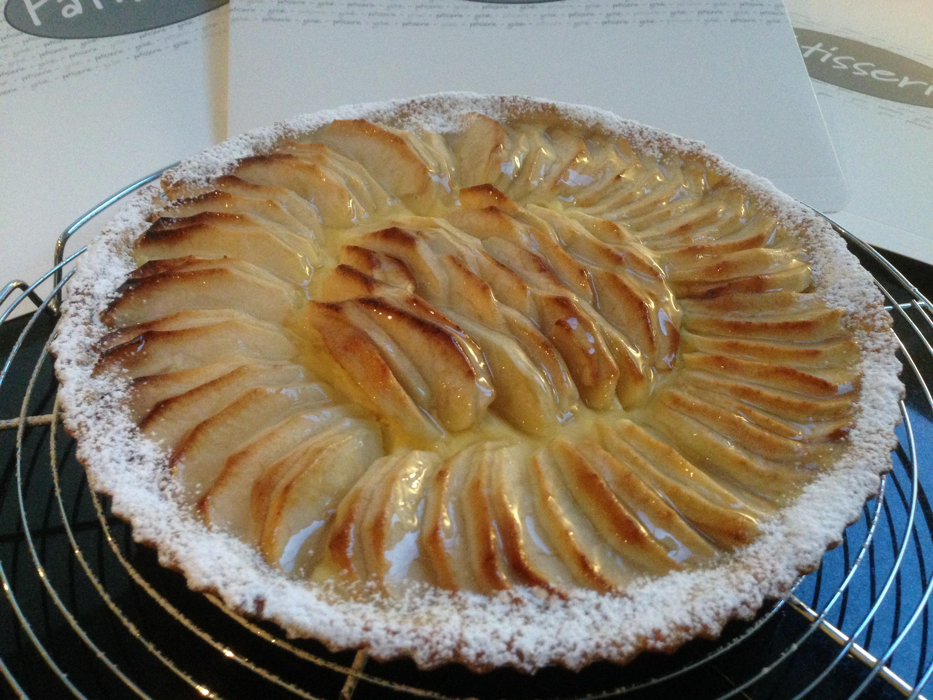 Appeltaart (klein/groot - keuze tussen open of gesloten taart) Image